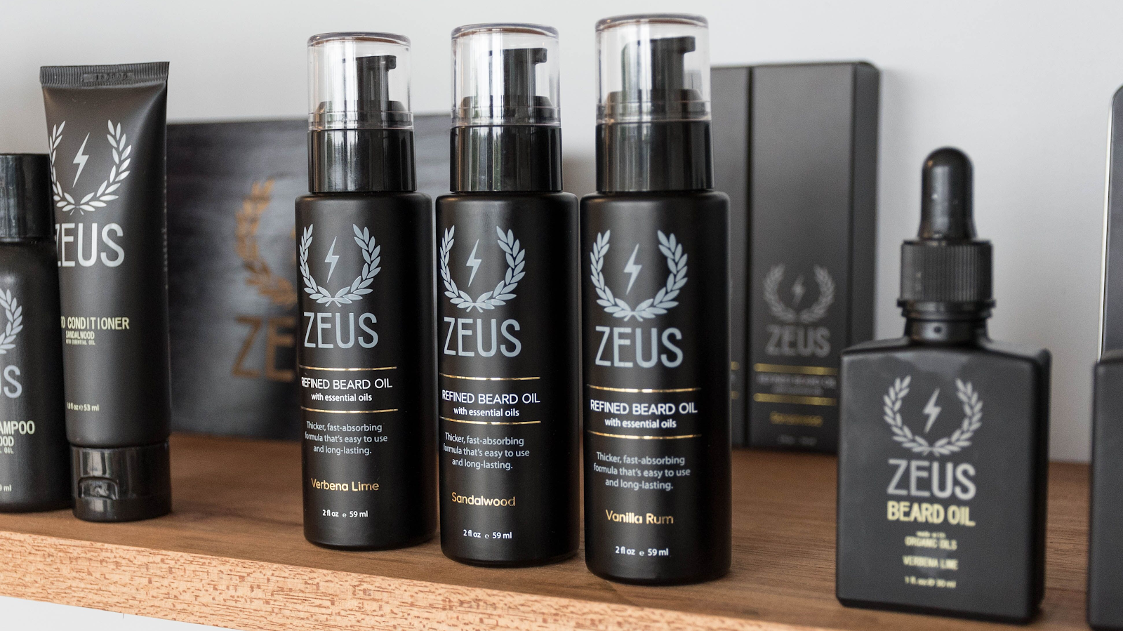 Zeus Beard - High Quality Men's Grooming Products - Abound ...